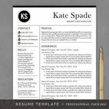 19 Professional But No Less Adorable Resume Templates Girls