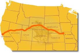 Maps Pony Express National Historic Trail U S National