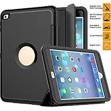 ipad case ipad mini 4 case saymac three layer drop protection rugged protective heavy