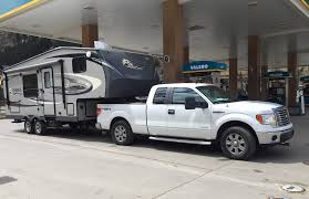 ask tfltruck can i tow a 5th wheel cer with a ford f150 half ton pickup
