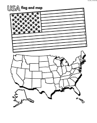 Choose your favorite coloring page and color it in bright colors. American Flag Coloring Pages You Can Print On The Site For Free