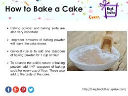 to bake a cake how to bake a cake