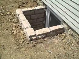 brick basement window wells. Contemporary Window Custom Stone Egress Window Wells Intended Brick Basement P