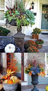 today we will explore some glorious fall planters great for thanksgiving and fall decorations including many inspiring fall planter ideas and container