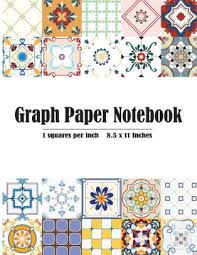 Graph Paper Notebook 1 Inch Squares Blank Graphing Composition Book Quad Ruled Squared Graph Journal College Students Engineering Mathematics