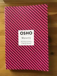 book osho maturity jpg