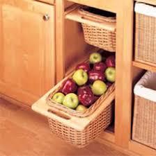 wicker basket cabinet.  Cabinet PullOut Rattan Baskets With Rails In Wicker Basket Cabinet