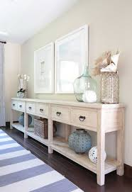 white entryway furniture. Project Shady Canyon Reveal Long Sofa TableLong TablesWhite Washed FurnitureEntryway White Entryway Furniture E