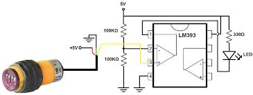 how to build a infrared proximity switch circuit a voltage infrared proximity switch circuit