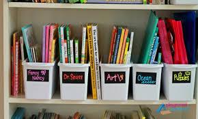 10 kids playroom organization ideas bookshelf bins by themes