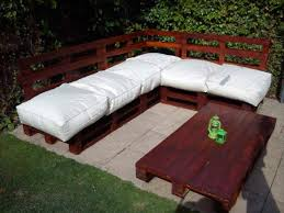 pallet outdoor furniture plans. diy pallet sectional sofa and table ideas furniture plans outdoor p