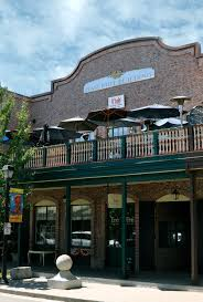 Q'bole is located in the historic Gaslight Building upstairs on the second  level terrace