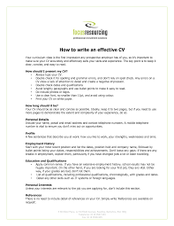 How To Write Your Resume Writing Your Resume And Cover Letter 5
