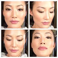 contouring is the best way to make your face slimmer in an instant invest in a good countouring kit or a matte bronzer that s deeper than your skin and a