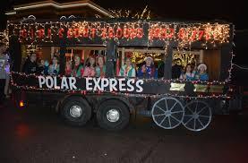 Polar Express Lights Polar Express Parade School