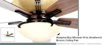 bay fan blade size ceiling remote not working fans globe photo 7 removal light hampton bay ceiling fan blades