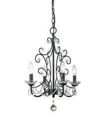 black mini chandelier z lite princess 4 light inch gloss black mini chandelier ceiling light small black mini chandelier