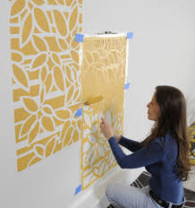 contemporary wall decor stencil photo the wall art decorations