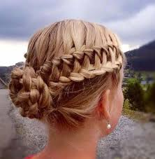 Hairstyle Waterfall waterfall braid into lace braid updo hairstyle 2017 modren villa 8933 by stevesalt.us