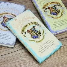 Hogwarts School Magic Academy Notebook Gift Diary Note Book Agenda ...