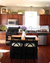 interior top of cabinet decorations contemporary how to finish the kitchen cabinets decorating above within