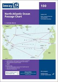 Imray Chart 100 Chart 100 North Atlantic Ocean Passage Chart