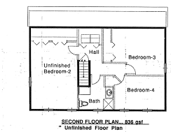 saltbox house plans. Colonial Saltbox House Plan 94007 Level Two Plans
