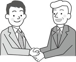外国の男性外人ビジネスイラスト無料素材