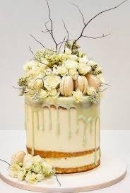 30 Rustic Wedding Cakes With Floral Berry Decorations Wedding