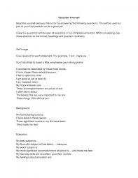 cover letter how to write a essay about yourself examples how to cover letter college application personal essay examples self reflective describe yourself example myself essayhow to write
