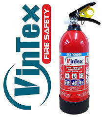 Vintex 2 Kg Abc Powder Based Fire Extinguisher With Wall