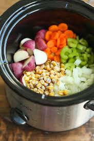 slow cooker en and corn chowder