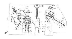 2000 honda fourtrax foreman 450 es trx450 carburetor parts best oem parts diagram for 2000 honda fourtrax foreman 450 es trx450 carburetor