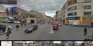 google street view bolivia now live  google street view world
