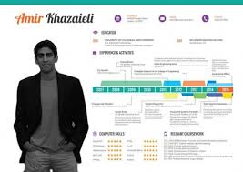 ... cccccc-design a Killer CV resume in Infographic Style