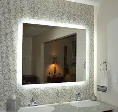 bathroom vanities mirrors. Side Lighted LED Bath Vanity Mirror Bathroom Vanities Mirrors H