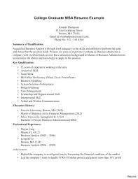 Resume Examples Of Resumes For College Students New Resume