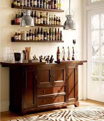 Wine Bar Storage Cabinet As You Can See The Amount Of Storage In This Rustic Home Bar
