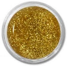 Allepaznokcie Lux Akrylová Barva Na Nehty Zlatá Glitter 10ml Glamicz