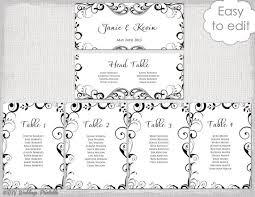 Wedding Chart Seating Template Wedding Seating Plan Templates Rome Fontanacountryinn Com