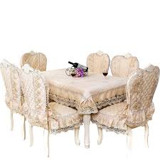 dining seat cushion large family home dining chair set round table dining table cloth cushion chair