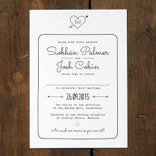 Heart And Arrow Wedding Invitation Feel Good Wedding Invitations
