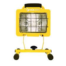 500 Watt Halogen Work Light Lumens Voltec 500 Watt Heavy Duty Halogen Work Light