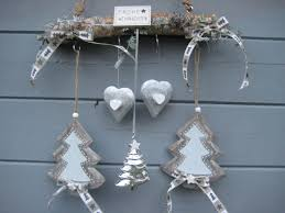 Reusable Shabby Christmas Door Wreath Window Decoration