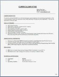 Formats For Resumes Simple Format Resume For Marriage Proposal Archives Sourcematerialus