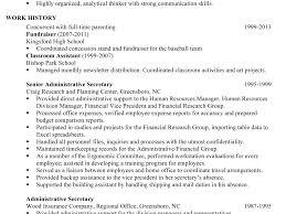 Plush Sample Chronological Resume 15 For An Administrative