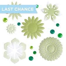 Green Layouts Mix Match Green Embellishments