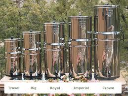 berkey water filter. Big Berkey® Water Purification System (2.1 Gal) Berkey Water Filter T
