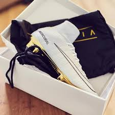 mercurial gold and white