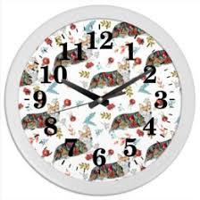 """Часы для офиса c красивыми принтами """"собака"""" - купить в ..."""
